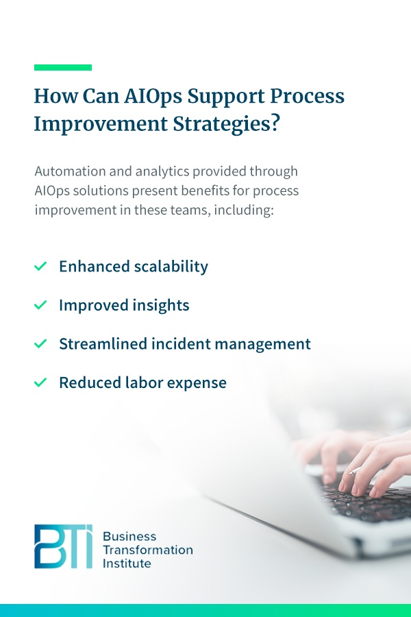 How Can AIOps Support Process Improvement Strategies?